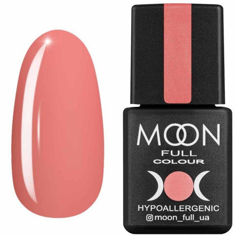 Гель-лак Moon Full Air Nude №20 (нежный лососевый, эмаль) 8 мл
