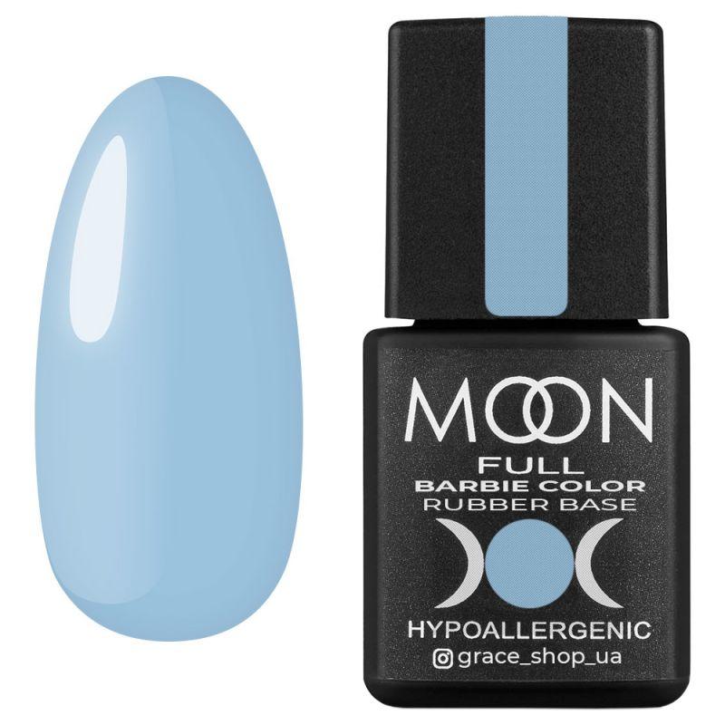 База для гель-лака Moon Full Barbie Color Rubber Base №11 (небесно-голубой) 8 мл