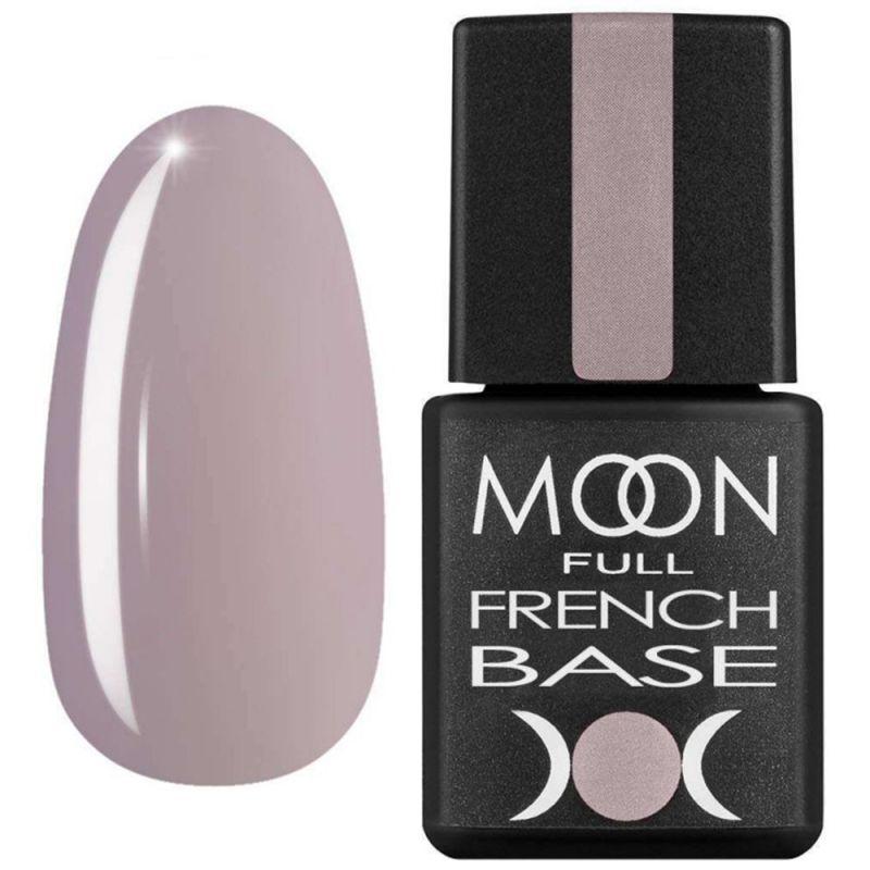 База для гель-лака Moon Full French №10 (розово-серый) 8 мл