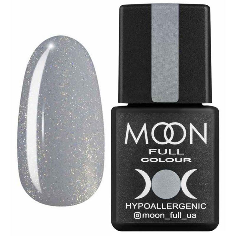 База для гель-лака Moon Full French №14 (серый с микроблеском) 8 мл