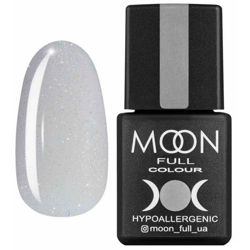 База для гель-лака Moon Full French №15 (светло-серый с микроблеском) 8 мл