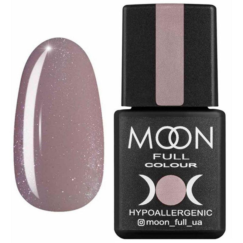 База для гель-лака Moon Full French №18 (темно-бежевый с микроблеском) 8 мл