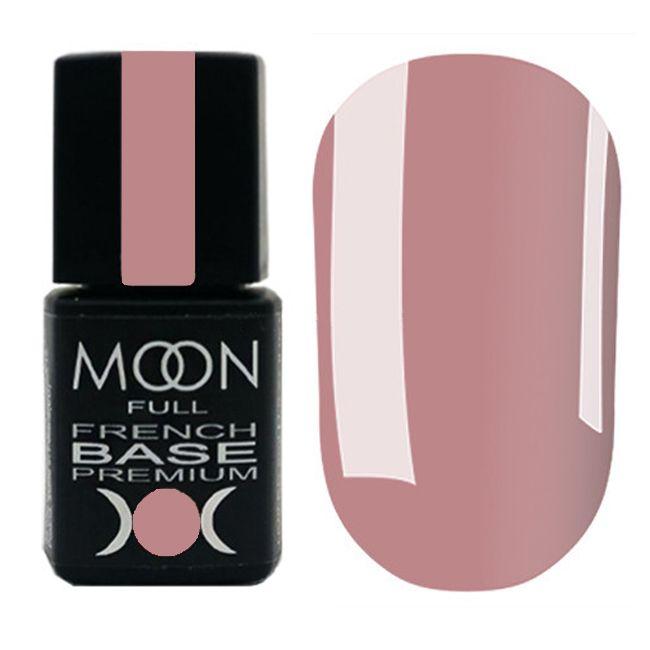 База для гель-лака Moon Full Base French Premium №22 (темно-бежевый) 8 мл