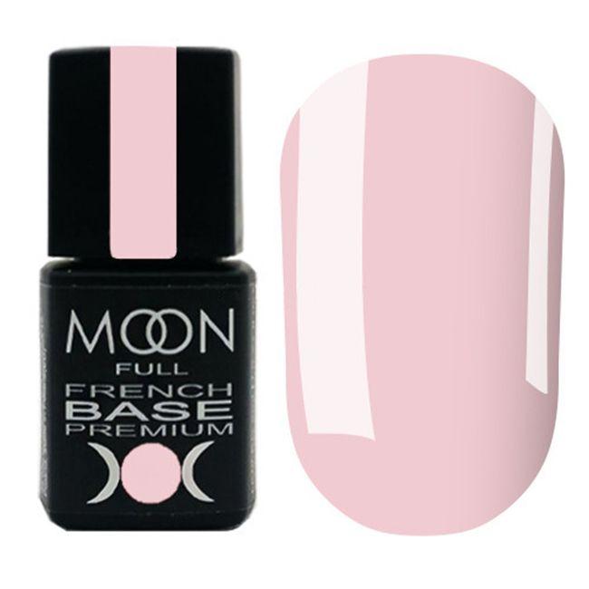 База для гель-лака Moon Full Base French Premium №25 (розовая пудра) 8 мл