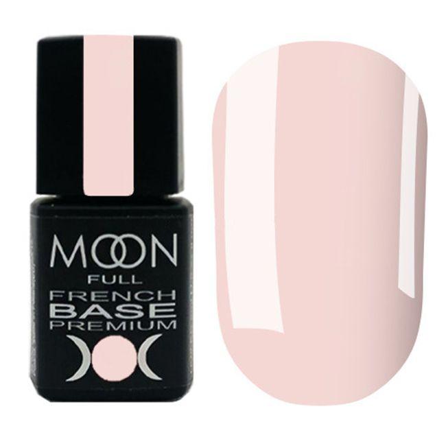 База для гель-лака Moon Full Base French Premium №28 (светло-розовый) 8 мл