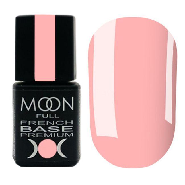 База для гель-лака Moon Full Base French Premium №29 (светло-коралловый) 8 мл