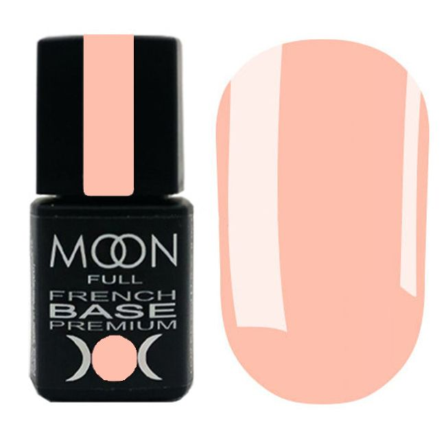 База для гель-лака Moon Full Base French Premium №32 (телесно-розовый) 8 мл