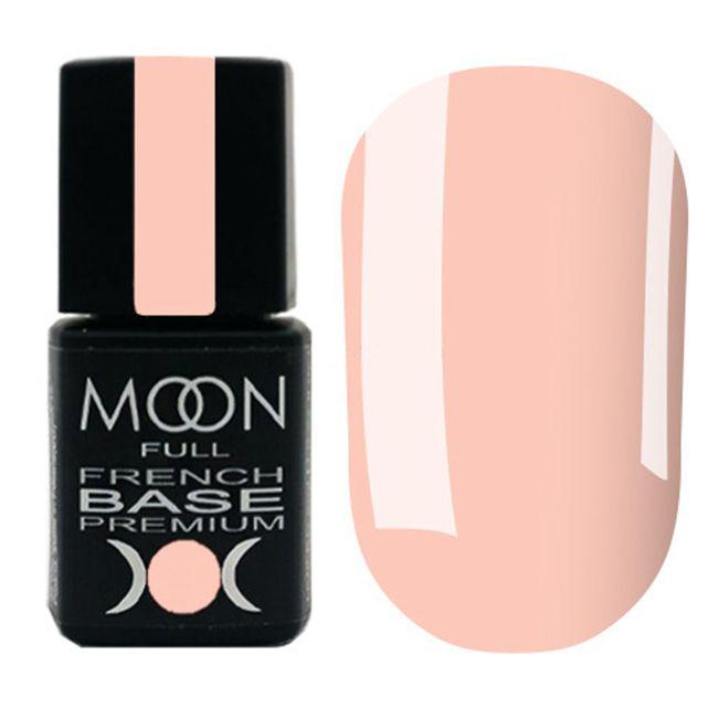 База для гель-лака Moon Full Base French Premium №33 (светло-персиковый) 8 мл