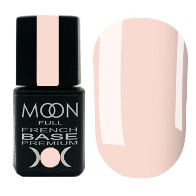 База для гель-лака Moon Full Base French Premium №34 (бледно-розовый) 8 мл
