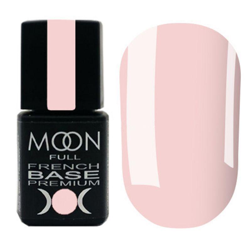 База для гель-лака Moon Full Base French Premium №35 (розовая вишня) 8 мл
