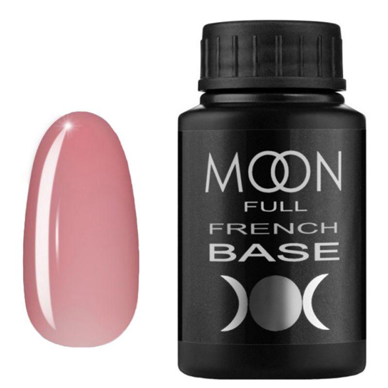 База для гель-лака Moon Full French №01 (светло-розовый) 30 мл