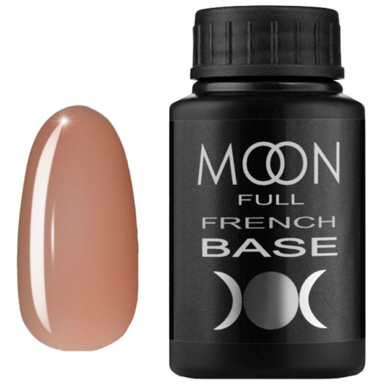 База для гель-лака Moon Full French №04 (персиковый) 30 мл