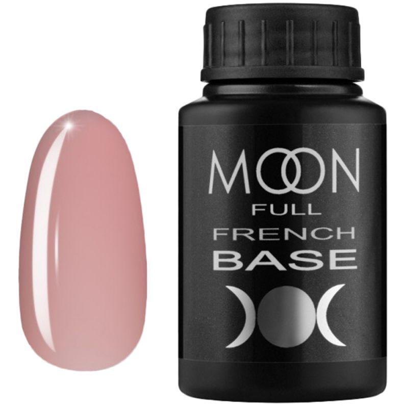 База для гель-лака Moon Full French №08 (бежево-розовый) 30 мл