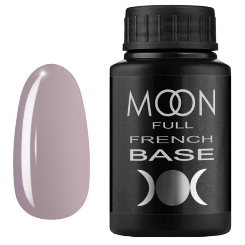 База для гель-лака Moon Full French №10 (розово-серый) 30 мл