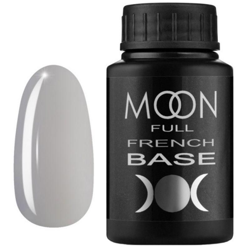 База для гель-лака Moon Full French №11 (серый) 30 мл
