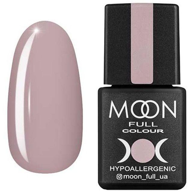 Гель-лак Moon Full Color №103* (бледный пурпурно-розовый, эмаль) 8 мл