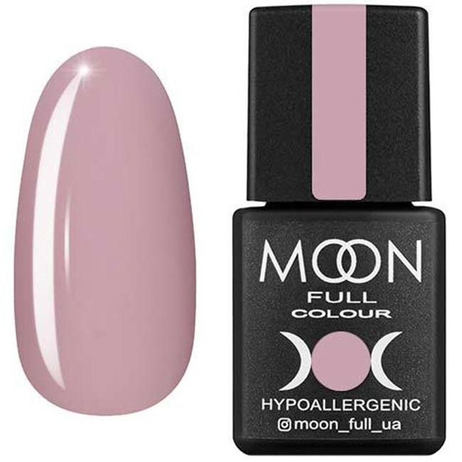 Гель-лак Moon Full Color №104* (холодный бледно-розовый, эмаль) 8 мл