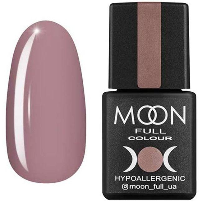 Гель-лак Moon Full Color №105* (холодный пурпурно-розовый, эмаль) 8 мл