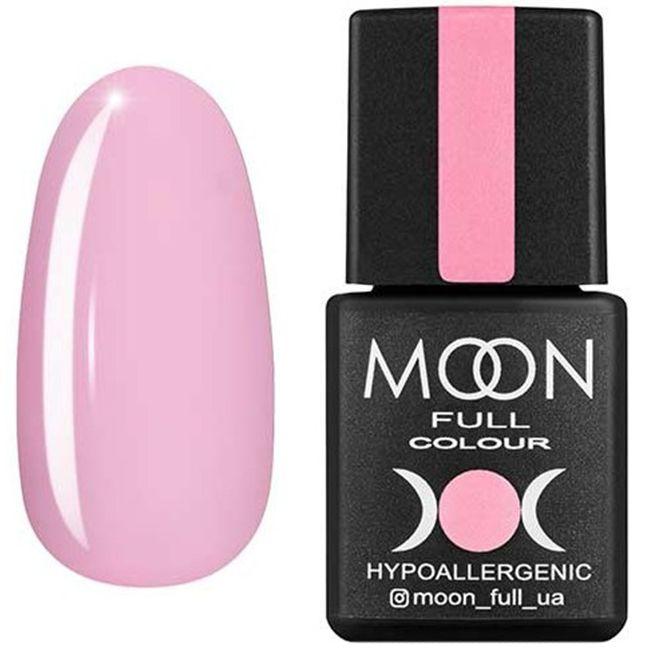 Гель-лак Moon Full Color №106* (кремовый розовый, эмаль) 8 мл