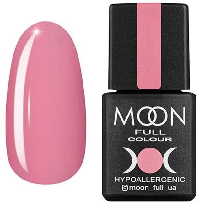 Гель-лак Moon Full Color №108 (тепло-розовый, эмаль) 8 мл