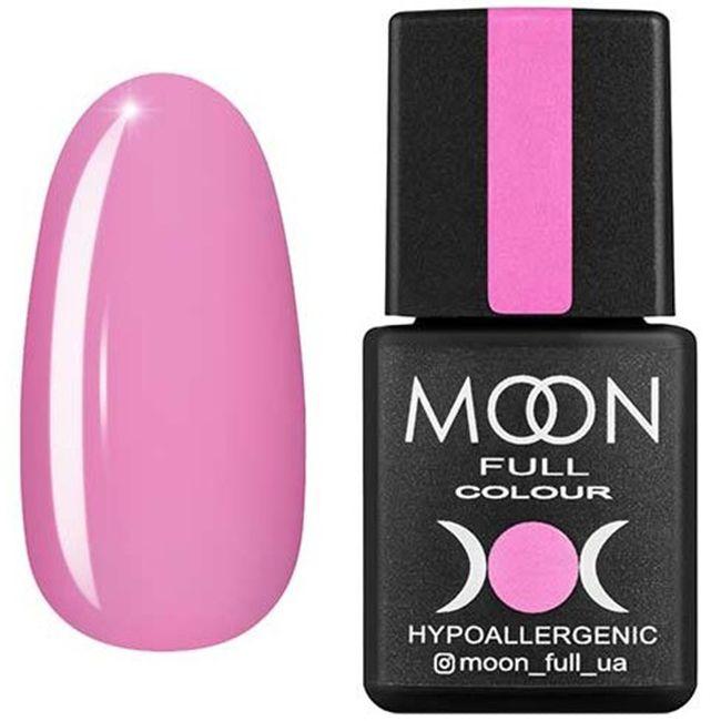 Гель-лак Moon Full Color №110 (светло-розовый холодный, эмаль) 8 мл