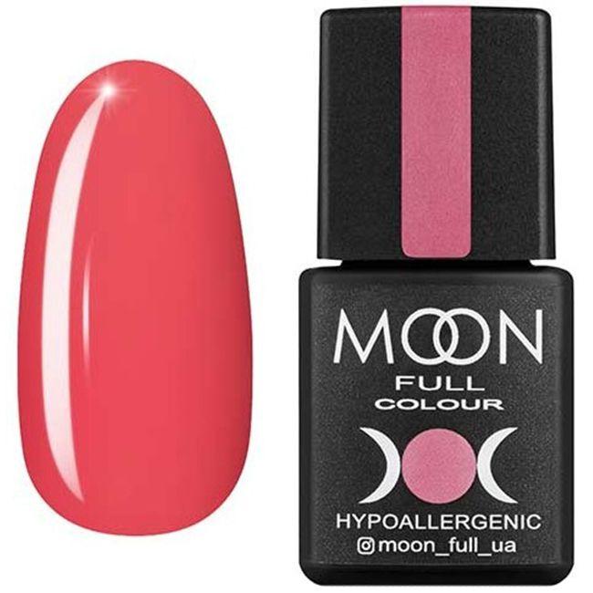 Гель-лак Moon Full Color №111* (розово-лиловый, эмаль) 8 мл
