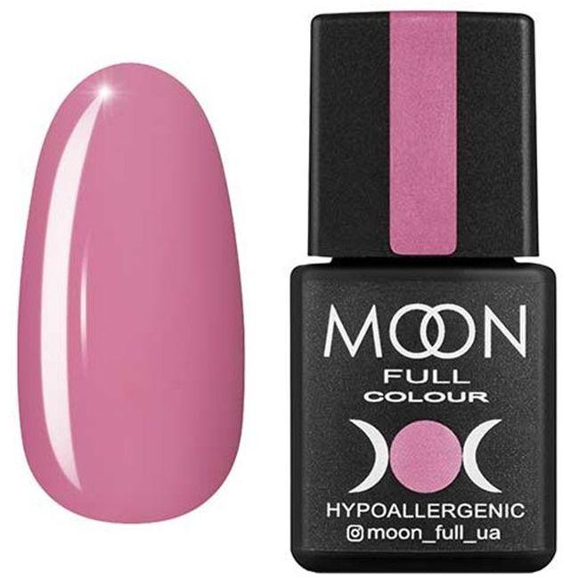 Гель-лак Moon Full Color №112* (холодно-розовый, эмаль) 8 мл