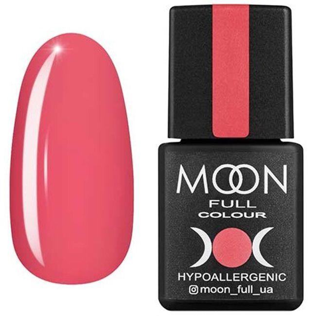 Гель-лак Moon Full Color №114* (лососево-розовый, эмаль) 8 мл