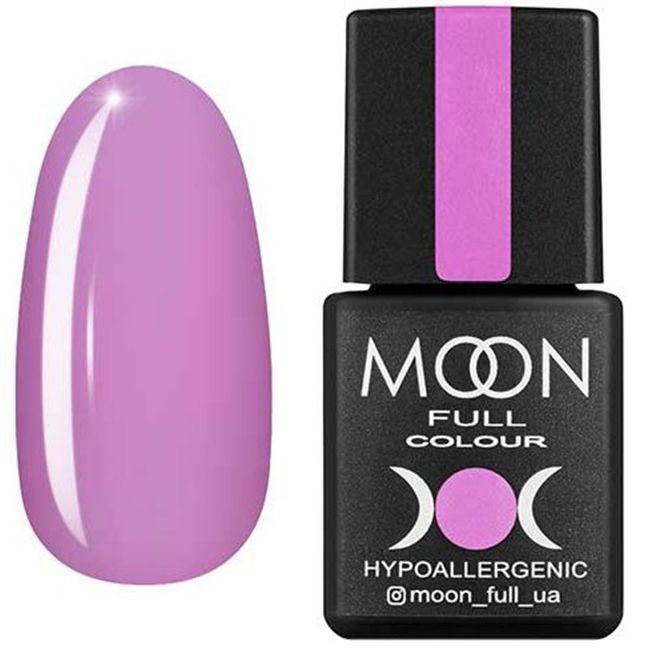 Гель-лак Moon Full Color №117* (розово-сиреневый, эмаль) 8 мл