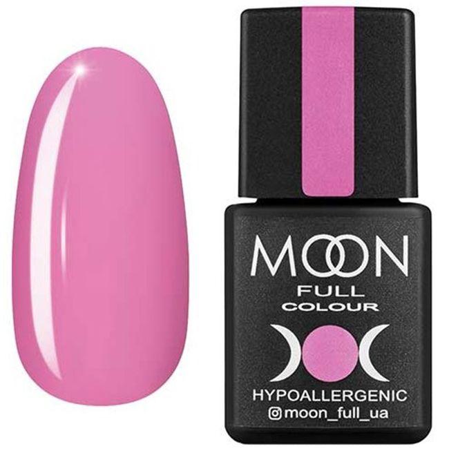 Гель-лак Moon Full Color №119* (светло-розовый, эмаль) 8 мл