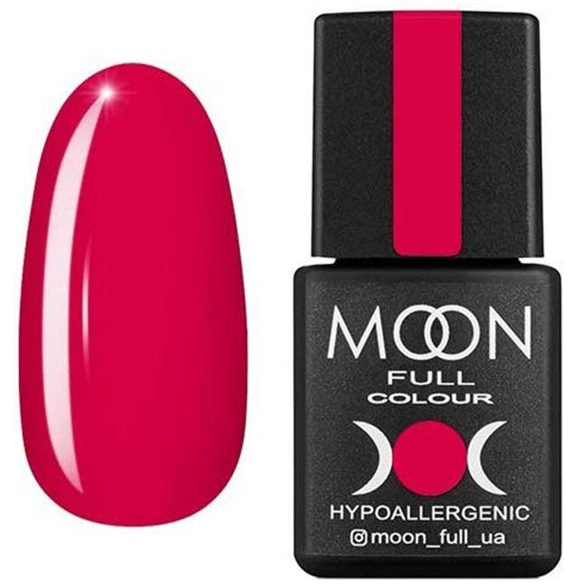 Гель-лак Moon Full Color №132* (розовая гвоздика, эмаль) 8 мл