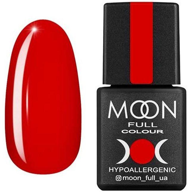 Гель-лак Moon Full Color №133** (красный перец, эмаль) 8 мл