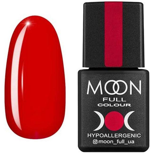 Гель-лак Moon Full Color №134* (рябиновый, эмаль) 8 мл