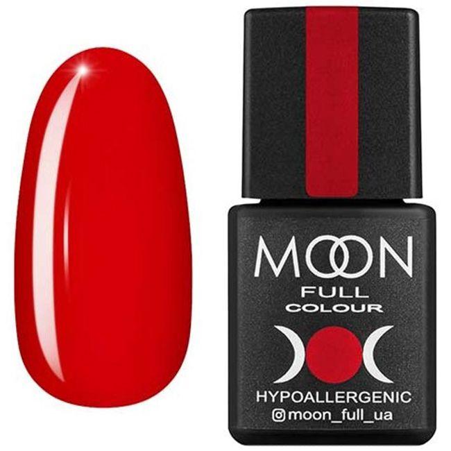 Гель-лак Moon Full Color №135 (красный закат, эмаль) 8 мл