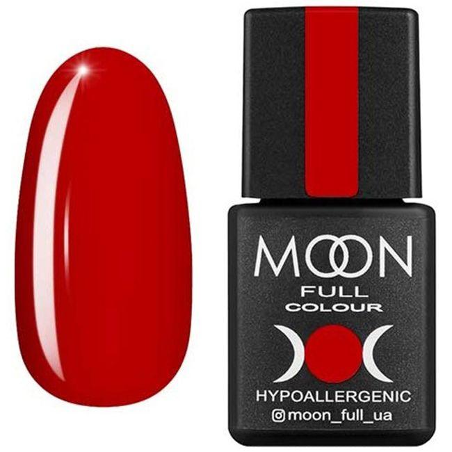 Гель-лак Moon Full Color №137* (классический красный, эмаль) 8 мл