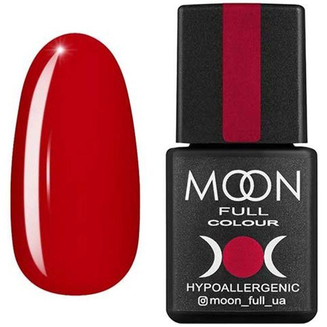Гель-лак Moon Full Color №138 (клубнично-красный, эмаль) 8 мл