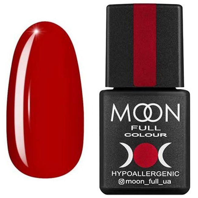 Гель-лак Moon Full Color №139* (темно-красный, эмаль) 8 мл