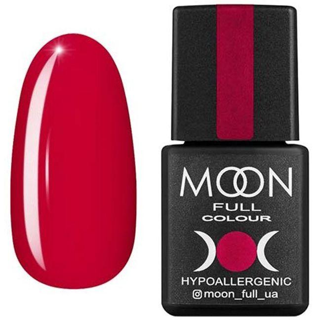 Гель-лак Moon Full Color №140* (малиновый, эмаль) 8 мл