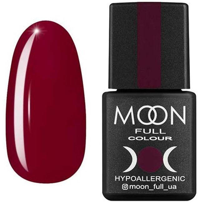 Гель-лак Moon Full Color №141* (фиолетовый светлый, эмаль) 8 мл