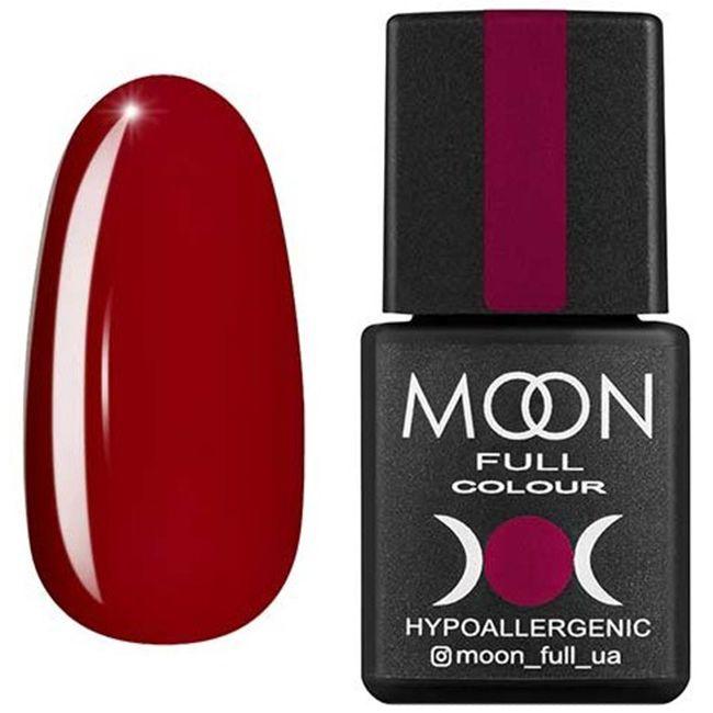 Гель-лак Moon Full Color №143* (вишневый, эмаль) 8 мл
