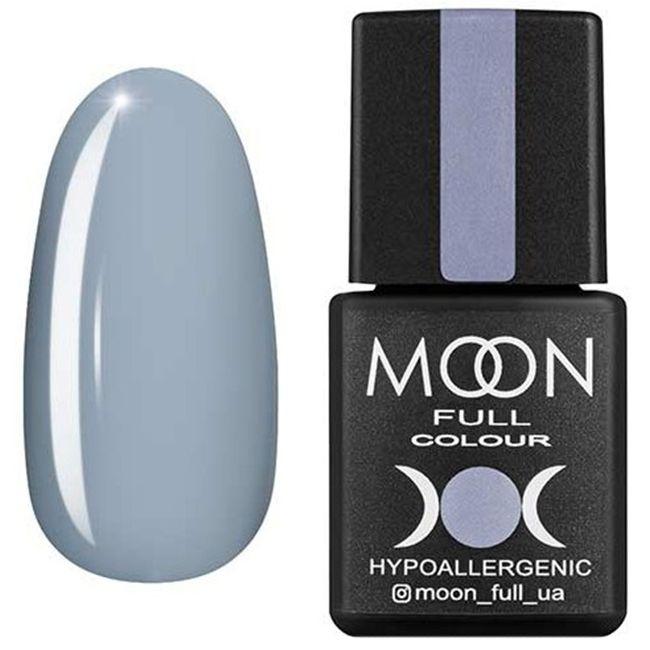 Гель-лак Moon Full Color №148* (голубая сталь, эмаль) 8 мл