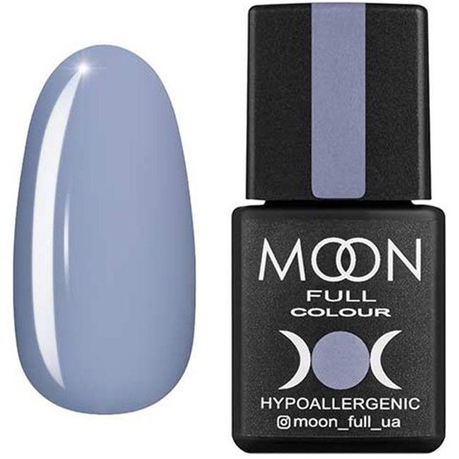 Гель-лак Moon Full Color №149* (серо-лилово-голубой, эмаль) 8 мл