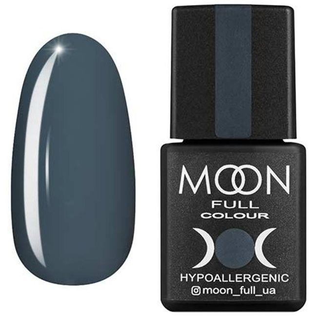 Гель-лак Moon Full Color №151* (серый, эмаль) 8 мл