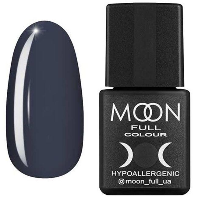 Гель-лак Moon Full Color №152 (темно-серый, эмаль) 8 мл