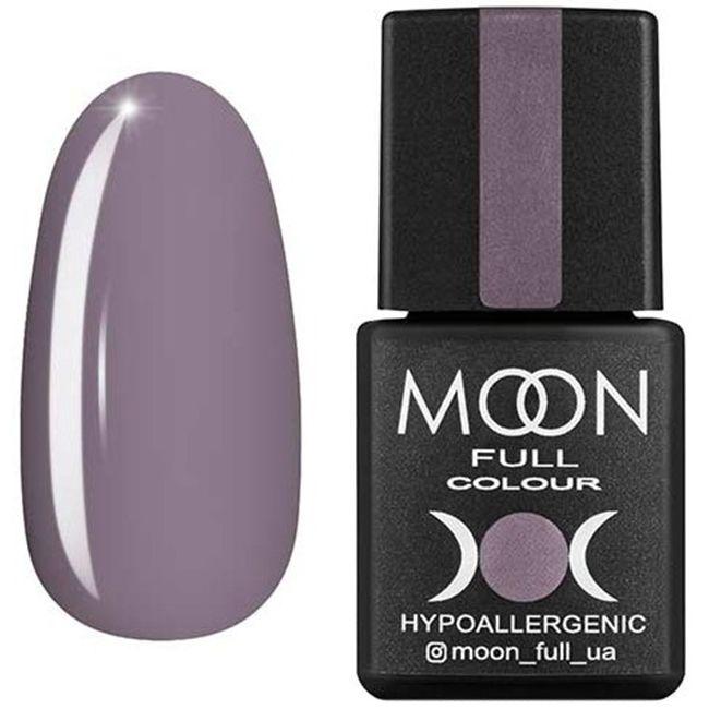 Гель-лак Moon Full Color №153* (серо-сиреневый, эмаль) 8 мл