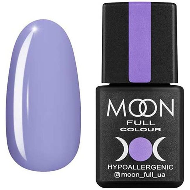 Гель-лак Moon Full Color №156* (барвинок, эмаль) 8 мл