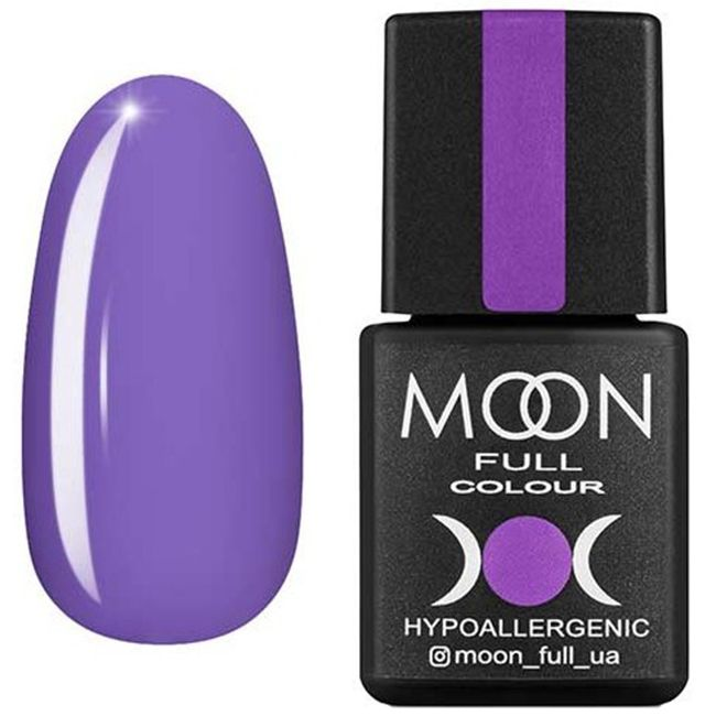 Гель-лак Moon Full Color №157* (глициния, эмаль) 8 мл