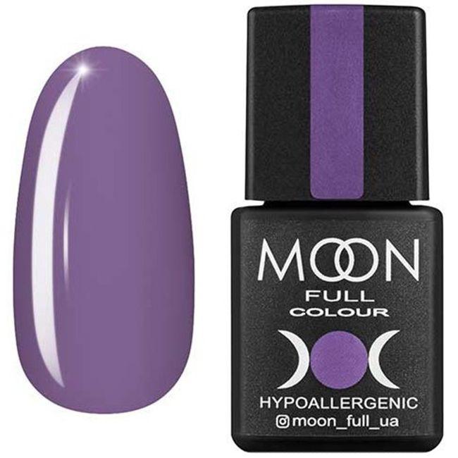 Гель-лак Moon Full Color №159 (пастельный фиолетовый, эмаль) 8 мл