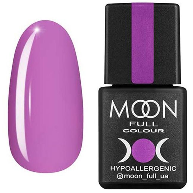 Гель-лак Moon Full Color №162* (пастельный сиреневый, эмаль) 8 мл