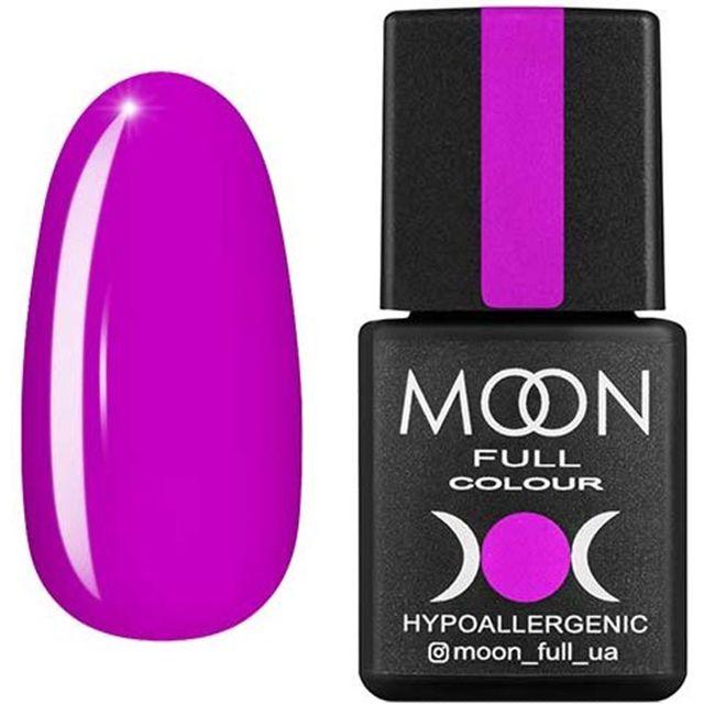 Гель-лак Moon Full Color №163 (ярко-сиреневый, эмаль) 8 мл